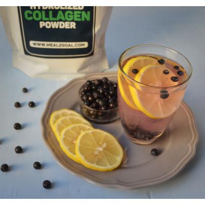 Коктейль с коллагеном лимонный