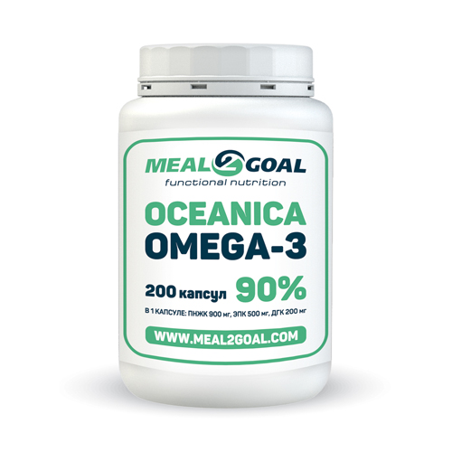 Омега-3 (90%) 200 капсул