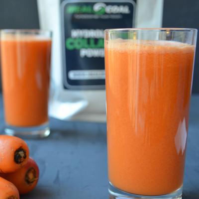 Яблоко+морковь+коллаген