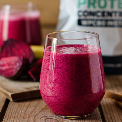 Свекольный протеиновый коктейль